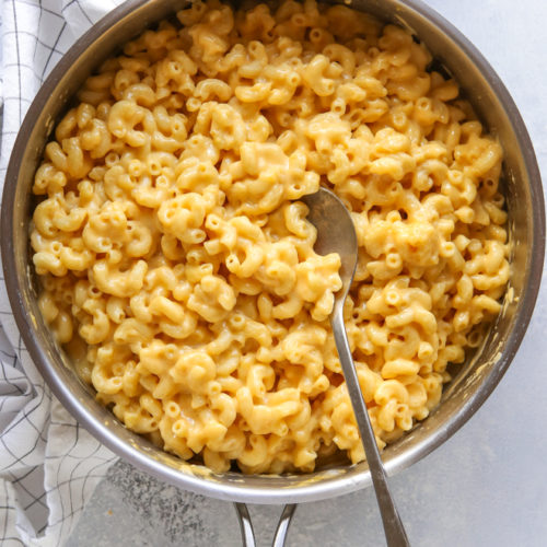 This 15-minute, one-pan mac and cheese is just as easy as from the box but so much better!