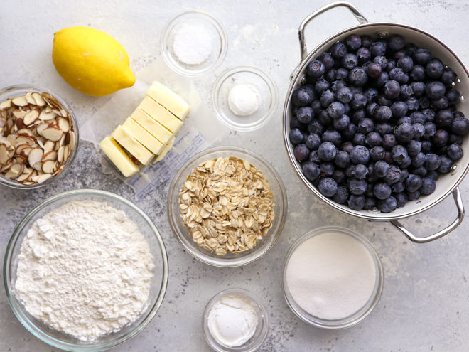 blueberry crisp ingredients