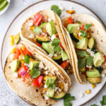 simple grilled veggie tacos are fresh, healthy, and full of so much flavor