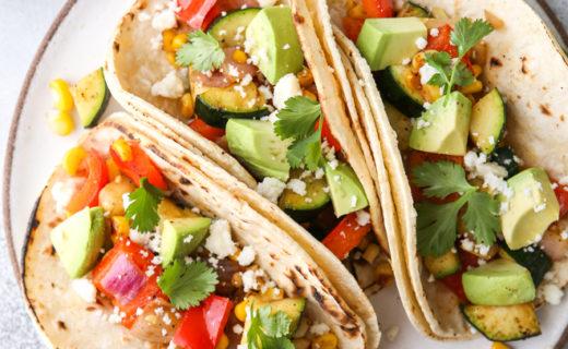 Grilled Veggie Tacos
