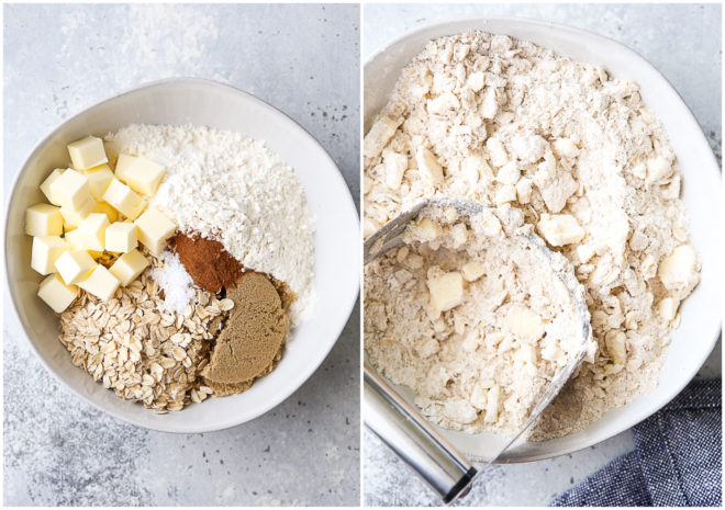 making crisp topping