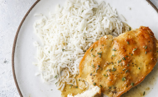Easy Skillet Chicken with Herb Butter Sauce
