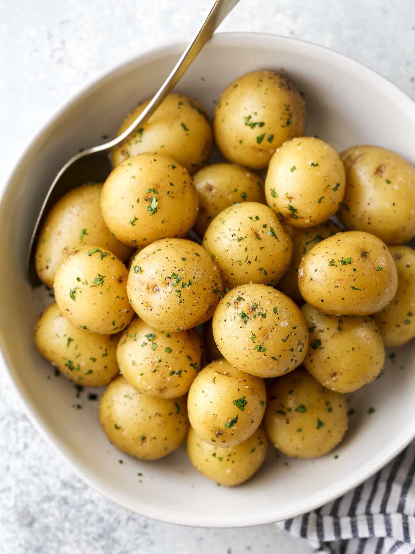 The Best Buttery Boiled Potatoes Completely Delicious