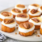 sweet potato bites on serving platter