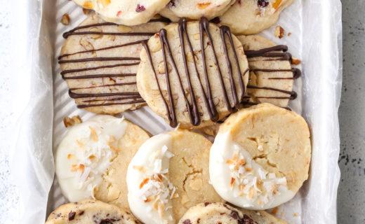 4-in-1 Shortbread Cookies