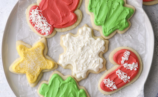 Frosted Sugar Cookie Cut Outs