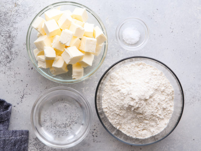puff pastry ingredients
