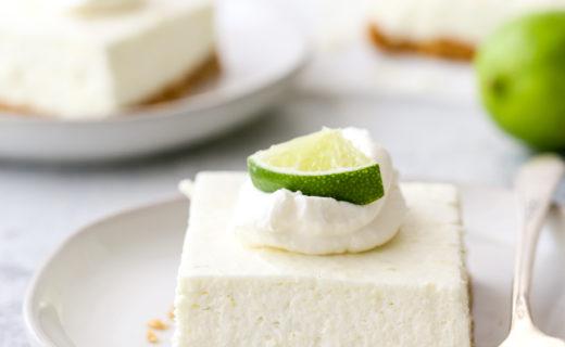 No-Bake Lime Cheesecake Bars