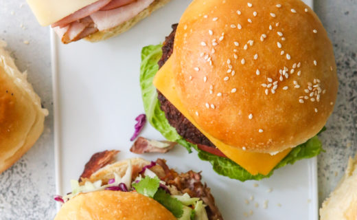 Homemade Sandwich, Slider and Burger Buns