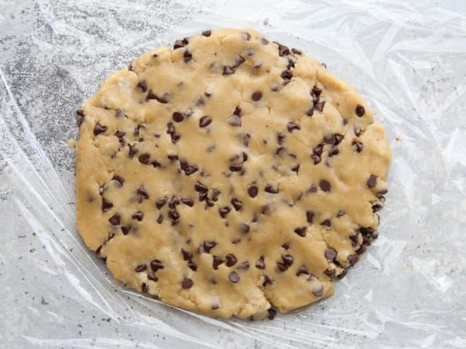 edible cookie dough for ice cream