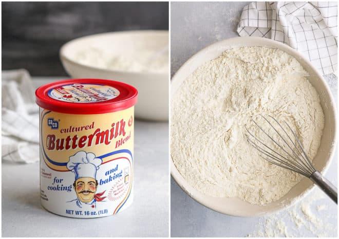 buttermilk powder and mixing buttermilk pancake mix