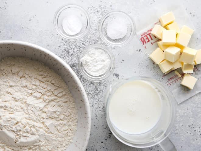 buttermilk drop biscuits ingredients