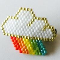 Les nouvelles créations du mois en perles (Brick stitch)