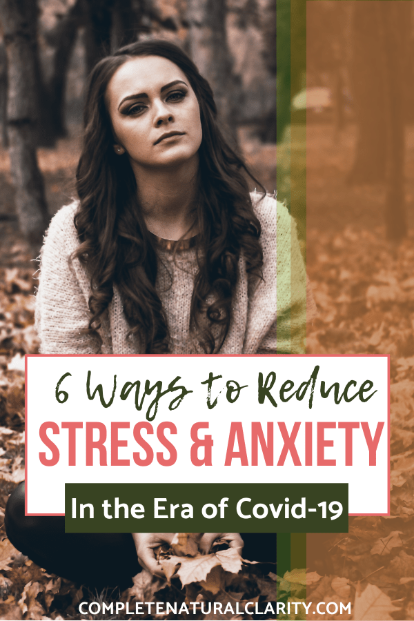 6 Ways to Reduce Stress & Anxiety During the Covid-19 epidemic & period of Quarantine/Social Distancing by focusing on aspects we CAN control in our lives! This post is full of Selfcare & Wellness tips to relieve tension and stress during this time of uncertainty & fear. We have to shift our focus, recharge our bodies, & make the most of our time & surroundings! Click to read! #anxietyrelief #stressrelief #covid19 #quarantine #socialdistancing