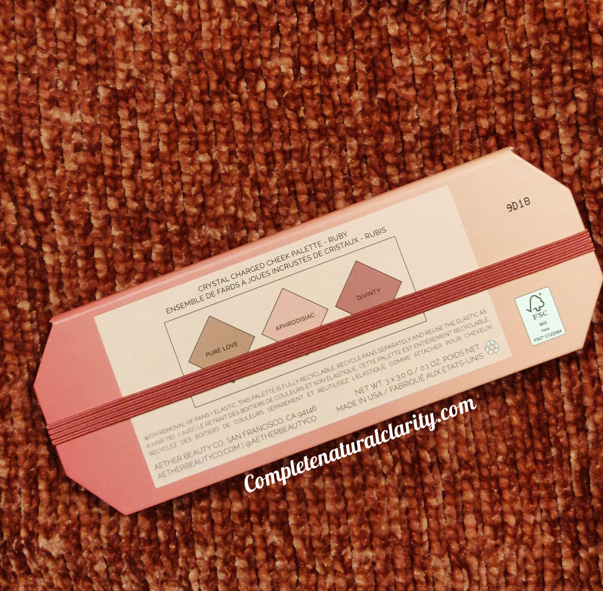 Aether Beauty Crystal Charged Cheek Palette Review