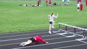 Do your hurdlers look like this? You need Tony Veney's hurdle program.