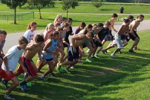 CTF-cross country training