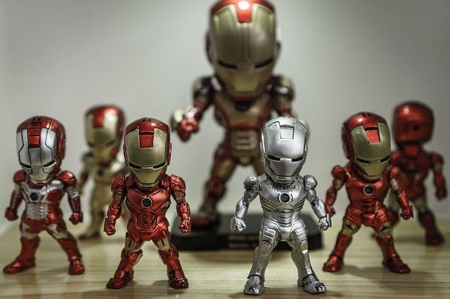 Iron Man Water