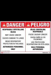 osha respirable crystalline silica posters
