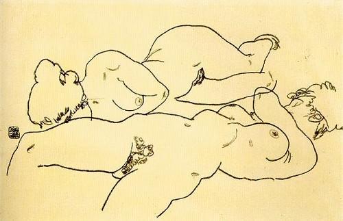 (by Egon Schiele)
