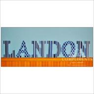 hand painted letters landon