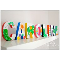Caroline Hand Painted Letters The Very Hungry Caterpillar