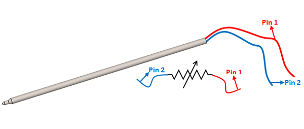 pt100 rtd sensor pinout features uses guide  datasheet