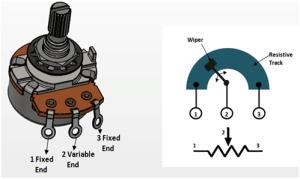 10K Potentiometer Pinout, Working & Datasheet Explained