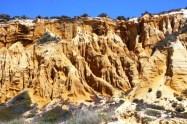 Sand Stone Cliffs Pinheirinho Praia