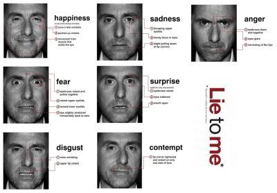 O estudo do comportamento facial humano 9