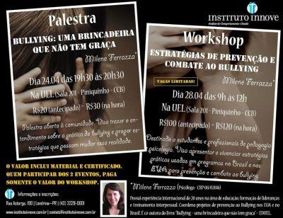 Palestra/Workshop sobre Bullying no Instituto Innove - Londrina/PR 5