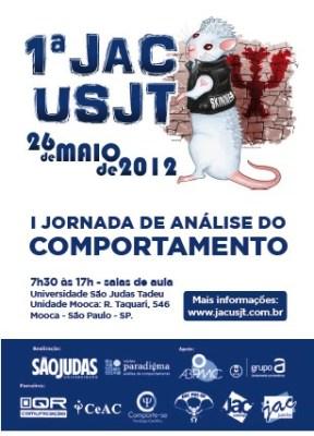 Sorteio - Inscrição na I Jornada de Análise do Comportamento da USJT - SP 5