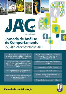 III Jornada de Análise do Comportamento do Mato Grosso - Cuiabá/MT - 5