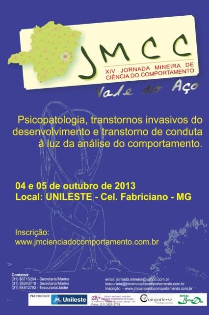 XIV Jornada Mineira de Ciência do Comportamento (JMCC) - Coronel Fabriciano/MG 5