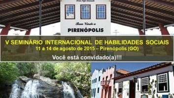 Últimos dias para submissão de trabalhos ao V Seminário Internacional de Habilidades Sociais 19