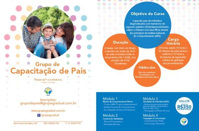 Folder GRUPO DE PAIS