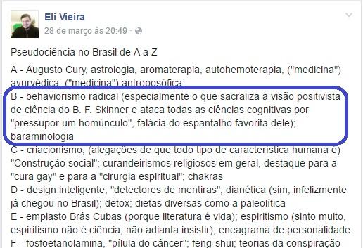 Imagem-Fonte: fotografia da página de Eli Vieira