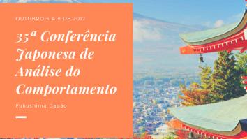 35ª Conferência Japonesa de Análise do Comportamento 19