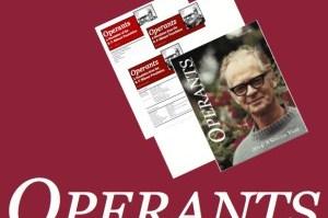 Confira! Nova edição da revista Operants - B. F. Skinner Foudation 23