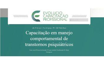 Capacitação em manejo comportamental de transtornos psiquiátricos 19