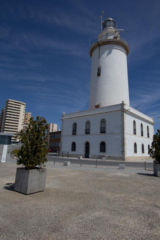 La Farola lighthouse of Malaga