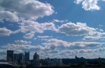 Clouds Over Pittsburgh ©2011 Lynn Emberg Purse, All Rights Reserved