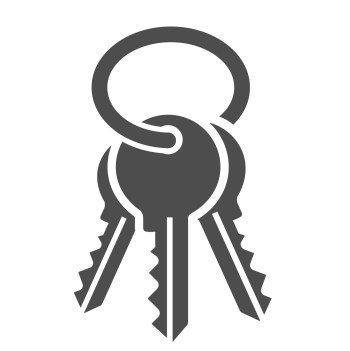 IT Security icons. Simplus series