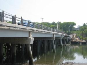 Photo of longest composite bridge in the world.