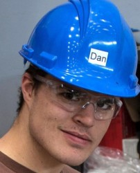 Dan Whitney is part of the team working on the NASA HIAD project.