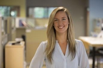Mackenzie Demkowicz, now a structural engineer at Vanasse Hangen Brustlin, Inc.