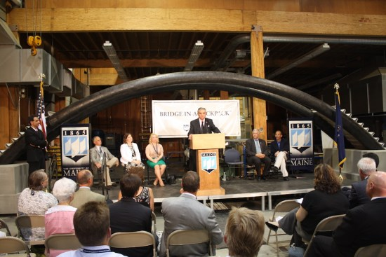 U.S. Secretary of Transportation Ray LaHood visited the center in 2009.
