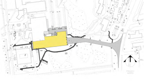 Plan view of the Offshore Wind Laboratory expansion.