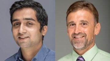 A photo of Sunil Bhandari and Dr.