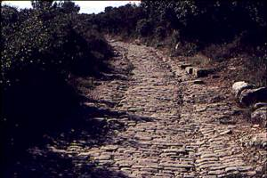 Toulouse Road in Provence Via Domitia
